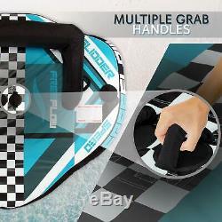 Heavy-duty Gonflable Tractable Booster Tube Deux Personnes Eau Tube Nautique Fl