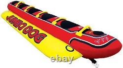 Lake Bay 5 Personnes Gonflables Enfants Adulte Jumbo Dog Eau Towable Tube Flottant