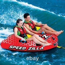 Lake Boat Towable Tube Water Pulling Boat Heavy Duty 2 Rider Winter Sale