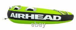 Mega Airhead Ruckus 3 Personne Rider Gonflable Tractable Bateau 70 Pont Tube Eau S