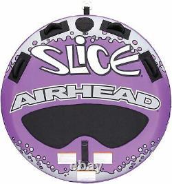 Navigation De Plaisance Airhead Super Tranche Tractable Eau Tube 2 Personne Rider Ahssl-22