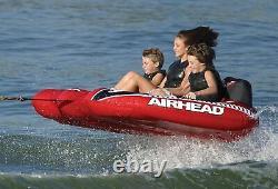 New Airhead Viper, 3 Cavaliers, Multi, One Size (ahvi-f3) Tube D'eau Du Lac Remorqué