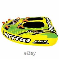 Nitro 2 Personnes Combo Pont Tube Bateau Gonflable Tractable Eau Radeau De Remorquage Float Meilleur