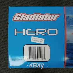Nouveau! Gladiator Hero Towable Tube Eau Jusqu'à 4 Cavaliers 96 Diamètre