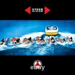 Nouveau Monde Des Sports Nautiques Wow 1-2 Personne Zig Zag Tube De Tube D'eau Remorquable