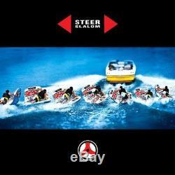 Nouveau Monde Des Sports Nautiques Wow 1-2 Tube De Tuyau D'eau Tractable Pour Tuyau Zig Zag