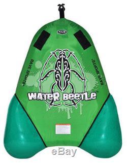 Nouveau Rave Sport 02386 Waterbeetle Eau Bateau Towable Tube Ski Sled Avec Garantie