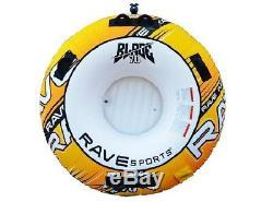 Nouveau Rave Sport 02639 Lame 70 Gonflable Round Rider Tractable Eau Tube