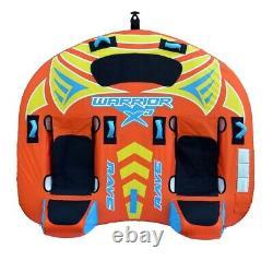 Nouveau Rave Sports 02643 Warrior X3 Inflatable Three Rider Tube D'eau Remorquable