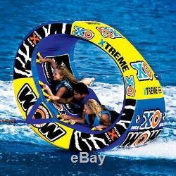 Nouveau Tube World Of Watersports Wow 1-3 Tube De Tuyau D'eau Tractable Pour Remorquage
