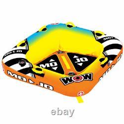 Nouveau Wow Water Sports Mojo 2 Towable Tube 16-1060