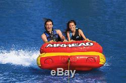 Nouvel Airhead Ahlw-2 Tube D'eau Lacustre Remorquable Remorquable 1 À 2 Passagers