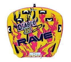 Nouvelles Rave Sport 02641 Diablo III Trois Gonflable Rider Tractable Eau Tube
