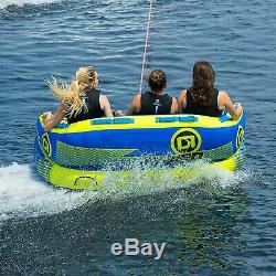 O'brian Barca 2 Gonflable Tractable Tube Eau Pour Le Canotage, 1-2 Riders, Bleu