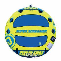 O'brien Super Screamer 2 Personne 70 Pouces Bateau Gonflable Tractable Eau Tube Intérieur