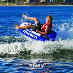 O'brien Watersports Wake Warrior Tube Gonflable Tractable Pour Ski Nautique Avec Une Personne