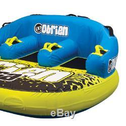 Obrien Barca 3 Kickback 3 Personne Rider Tractable Raft Tube Bateau Eau (2 Pack)