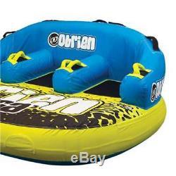 Obrien Gonflable 3 Personne Rider Tube Tractable Bateau Eau Raft (pour Les Pièces)