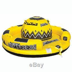 Obrien Gonflable 5 Personne Sombrero Tractable Bateau D'eau Du Lac Raft Tube, Jaune