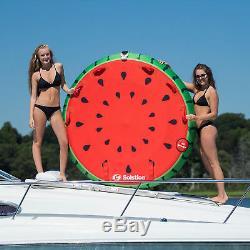 Radeau Flottant De Flotteur De Tube Tractable Par Eau De Cavalier Gonflable De 2 Cavaliers De Watermelon Island