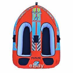 Radeau Tractable De Tube D'eau De Bateau Remorquable Gonflable De Cavalier De Tirade II De Sports De Rave Sports