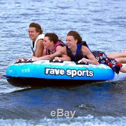 Rave Sport 02407 X Frantic 3 Rider Gonflable Flotteur Tractable Bateau Tube