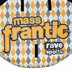 Rave Sport 02408 Mass Frantic 4 Rider Gonflable Flotteur Tractable Bateau Tube