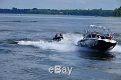 Rave Sport Tempête Gonflable 2 Personne Rider Tractable Bateau D'eau Du Lac Tube Raft