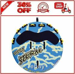 Rave Sports 02325 Mega Storm 4 Rider Gonflable Water Float Towable Boat Tube