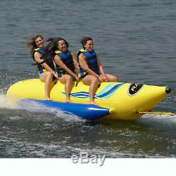 Rave Sports 3 Rider Waterboggan Lac Gonflable Eau Océan Tubes Tractable