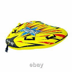 Rave Sports Razor Gonflable 2 Personnes Cavalier Remorque Bateau Lake Water Tube Raft