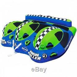 Remorqueur Gonflable De Bateau De Tube De L'eau De Sportsstuff High Roller 3 Rider 53-3030