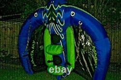 Sevylor Extreme Manta Ray Flying Inflatable Towable Kite Tube Water Boating