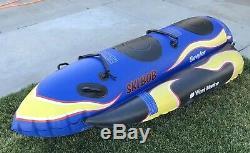 Sevylor West Marine Ski Bob Ski Nautique Tube Tractable / Modèle St3700wm / Gratuit Livraison