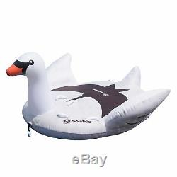 Solstice Gonflable Swimline Eau Swan De 1 À 2 Rider Boat Towable Tube (2 Pack)