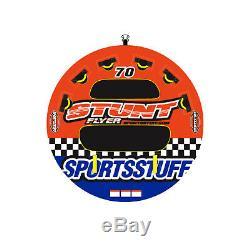 Sportsstuff 53-1651 Stunt Flyer Eau Bateau Tube Gonflable 2 Riders Tractables