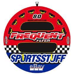Sportsstuff 53-1661 Frequent Flyer Eau Bateau Tube Tractables 3 Riders Gonflables