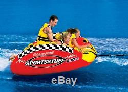 Sportsstuff 53-2160 Tube D'eau Gonflable Remorquable Semi-rigide Frantic Triple Rider