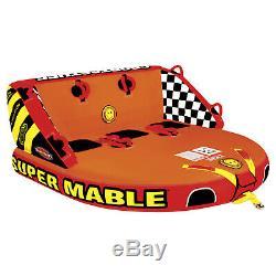 Sportsstuff 53-2223 Super Mable Eau Bateau Tube Tractable 3 Personne Gonflable