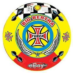 Sportsstuff Big Bertha 53-1329 Tractable 1-4 Personne Bâteau Sport Tube (occasion)