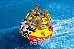 Sportsstuff Big Bertha Tractable 1-4 Personne Lac Bateau Sports Nautiques Tube (2 Pack)