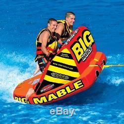 Sportsstuff Big Mable Gonflable Eau 2 Cavalier Tube Bateau Lounge Remorquable 53-2213