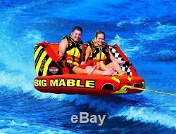 Sportsstuff Big Mable Towable Tube 2 Personne Coussin D'air Extérieur Sports Nautiques Nouveau