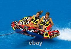Sportsstuff Chariot Warbird 2 Double Rider Tube D'eau Gonflable Remorquable (utilisé)