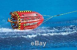 Sportsstuff Gyro 53-1818 Tumbling 1 Personne Rider Tractable Bateau D'eau Du Lac Tube
