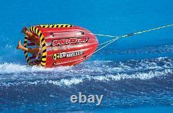Sportsstuff Gyro 53-1818 Tumbling 1-person Rider Towable Boat Lake Water Tube