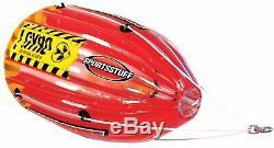 Sportsstuff Gyro Tumbling 1 Personne Rider Tractable Bateau D'eau Du Lac Tube (2 Pack)