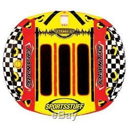 Sportsstuff Half Pipe Frantic Triple Rider Tractable Eau Tube (open Box)