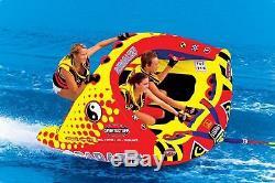 Sportsstuff Poparazzi Triple Rider Gonflable Tractable Tube Pour Les Sports Nautiques