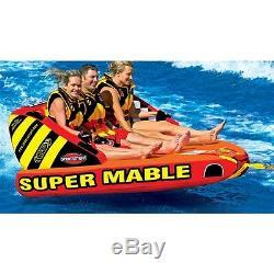 Sportsstuff Super Mable Tractable Eau Tube Beton 53-2223